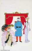 Jean-Denis Malclès, original de la couverture pour Colombe, Jean Anouilh, Éditions Folio.