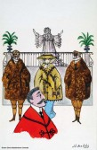 Jean-Denis Malclès, original de la couverture pour Ardèle ou la marguerite et La valse des torréadors, Jean Anouilh. Éditions Livre de poche.
