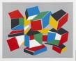 Dean Tavoularis, acrylique sur toile, exécutée en 2005, signée en bas à droite, 64.5x53.5 cm.
