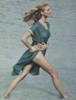 Marika Green par Helmut Newton pour Vogue Français, print sur dibon, 1964, 20x26cm, x/20.