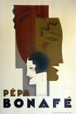 "Jean Carlu, estampe pour ""Pépa Bonafé"" vers 1926."