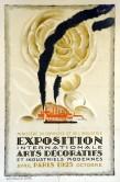 Loupot, estampe pour l'Exposition internationale des Arts Décoratifs et industriels modernes, 1925.