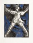 Marino Marini Dancer I, 1977 Eau-forte signée, Epreuve d'artiste 52,2 x 67,5 cm