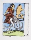 """Jean-Pierre Pincemin Sans titre, 1994 Aquatinte au sucre, colorée au pochoir signée, datée et numérotée """"37/40"""" 65,5 x 83,5 cm"""