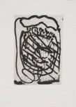 """Jean-Pierre Pincemin Sans titre Atelier Piero Crommelynck, 1991 Aquatinte sur papier de Rives signée, datée et numérotée """"4/50"""" 25,7 x 35,5 cm"""