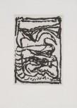 """Jean-Pierre Pincemin Sans titre Atelier Piero Crommelynck, 1991 Aquatinte sur papier de Rives signée, datée et numérotée """"4/50"""" 23,8 x 33,2 cm"""