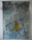 L'enfant, 2011 Techniques mixtes sur papier coréen 210 x 145 cm