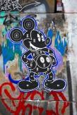Composition photographique : Jérôme Revon Street-Artist : Dylan Egon MICKEY Brooklyn, 2014, Tirage unique sur papier métallique contrecollé sous diasec, 135 x 90 cm