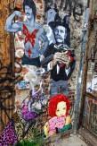 Composition photographique : Jérôme Revon Street-Artist : Balu et divers HULK Brooklyn, 2014, Tirage unique sur papier métallique contrecollé sous diasec, 135 x 90 cm