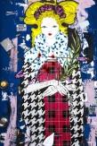 Composition photographique : Jérôme Revon Street-Artist : Burny M PRINCESS TARTAN Brooklyn, 2014, Tirage unique sur papier métallique contrecollé sous diasec, 135 x 90 cm
