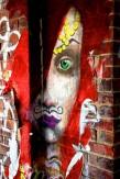 Composition photographique : Jérôme Revon Street-Artist : Inconnu RED Brooklyn, 2014, Tirage unique sur papier métallique contrecollé sous diasec, 135 x 90 cm