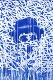 Jérôme Revon CHAPLIN Tribute to JonOne Manhattan, 2014, Tirage unique sur papier métallique contrecollé sous diasec, 135 x 90 cm