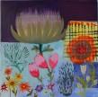 Catherine Starkman Vous avez dit Fleur ?, 2014 Huile sur toile 212 x 198 cm