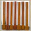 Jean Feldman, Babel's architects, technique mixte sur carton, 120 x 120 cm