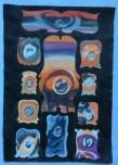 Marie Hugo Culs de bouteilles entrée, 2015 Pigments sur Arche 62 x 44 cm
