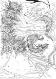 Roxane Depardieu Sans titre, mars 2016 Sérigraphie à l'encre réhaussée à l'aquarelle Edition de 8 épreuves numérotées +1 Epreuve d'Artiste 60 x 80 cm